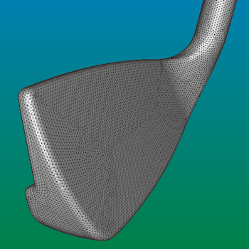 golf club surface grid