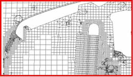 Harpoon mesh