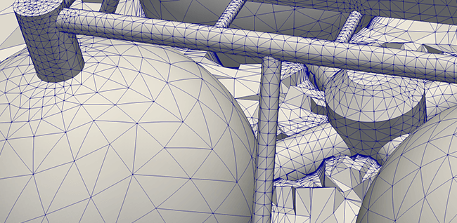 curved mesh