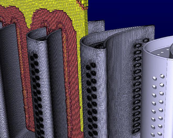 turbine mesh