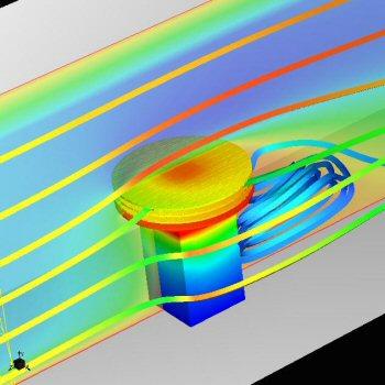 Calgreg radial heat sink