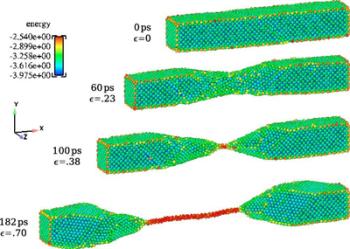 Nanobridge formation