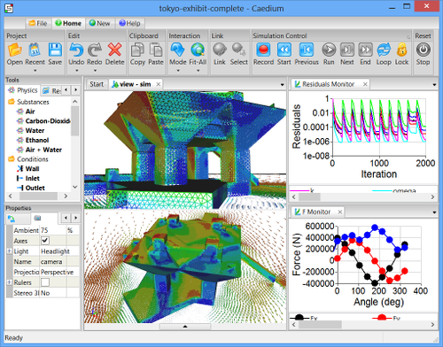 Scripted CFD Simulation